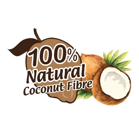100% Natural Coconut Fibre